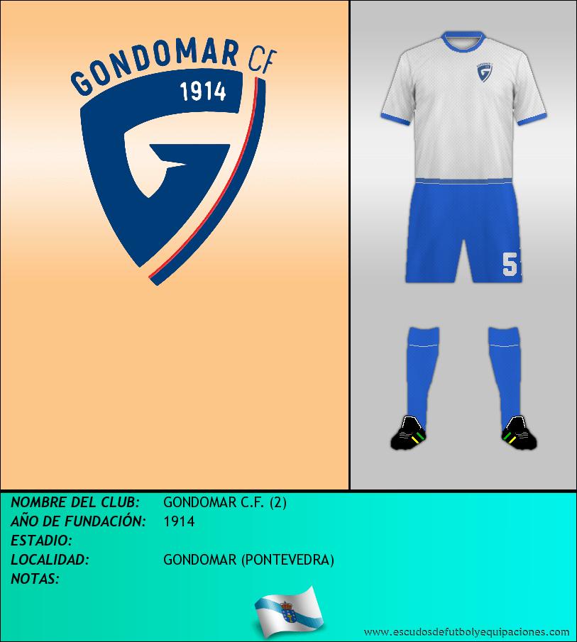 Escudo de GONDOMAR C.F. (2)