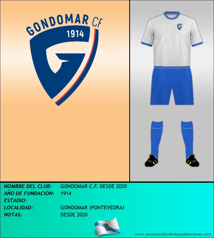 Escudo de GONDOMAR C.F. DESDE 2020