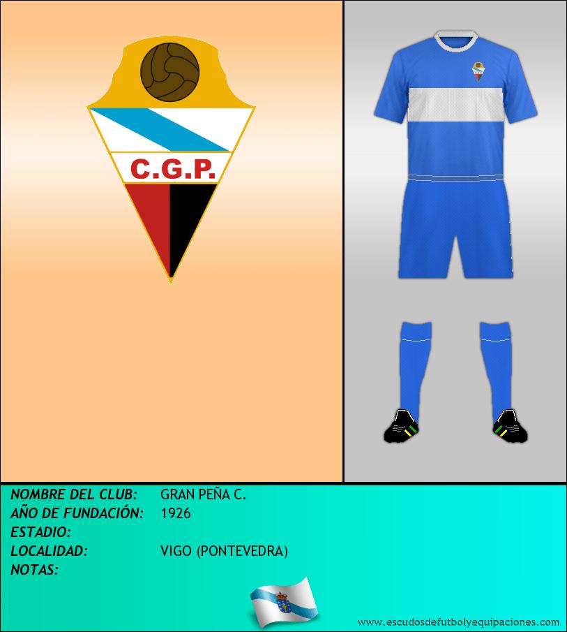 Escudo de GRAN PEÑA C.
