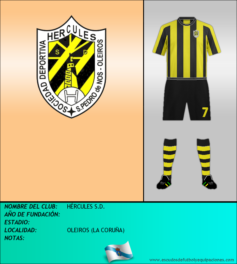 Escudo de HÉRCULES S.D.