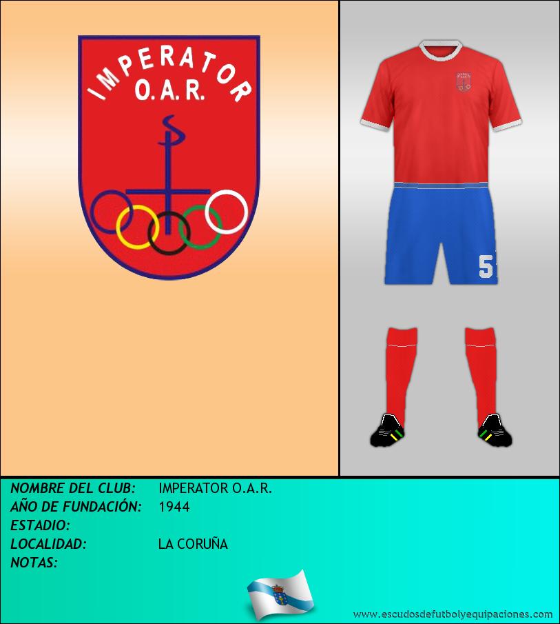 Escudo de IMPERATOR O.A.R.