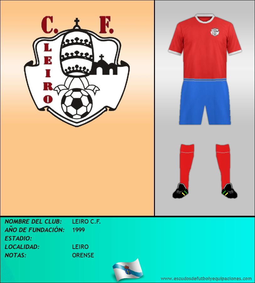 Escudo de LEIRO C.F.