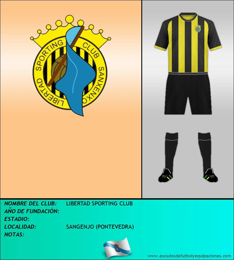 Escudo de LIBERTAD SPORTING CLUB