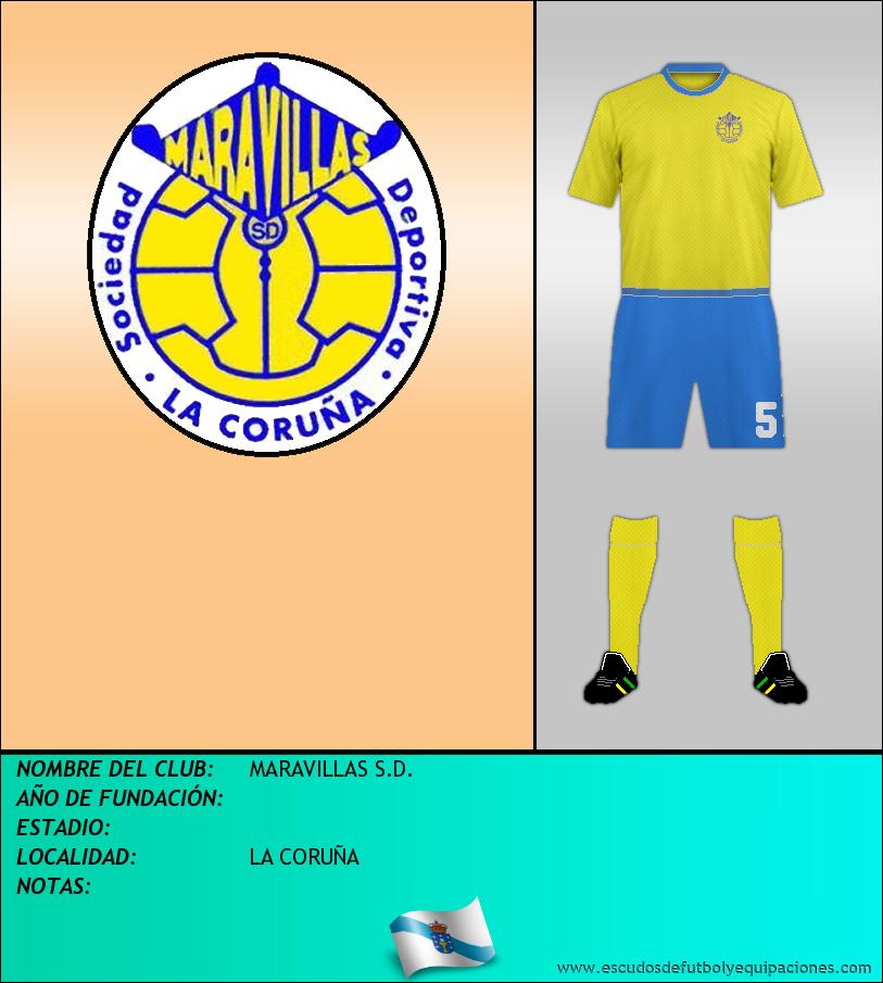 Escudo de MARAVILLAS S.D.