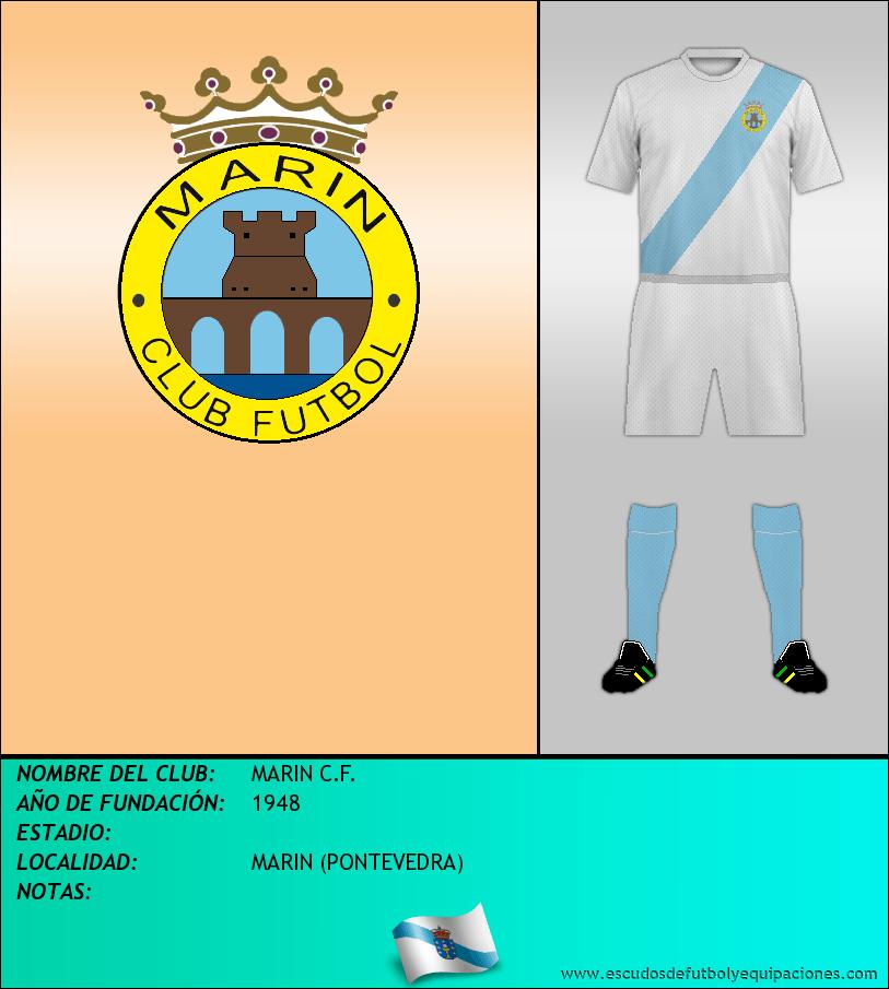 Escudo de MARIN C.F.