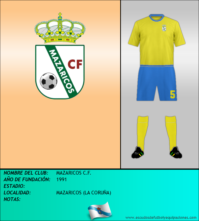 Escudo de MAZARICOS C.F.