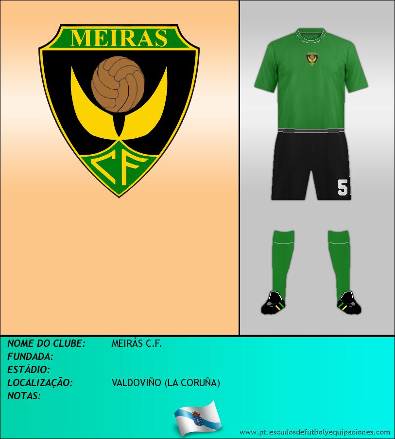 Escudo de MEIRÁS C.F.