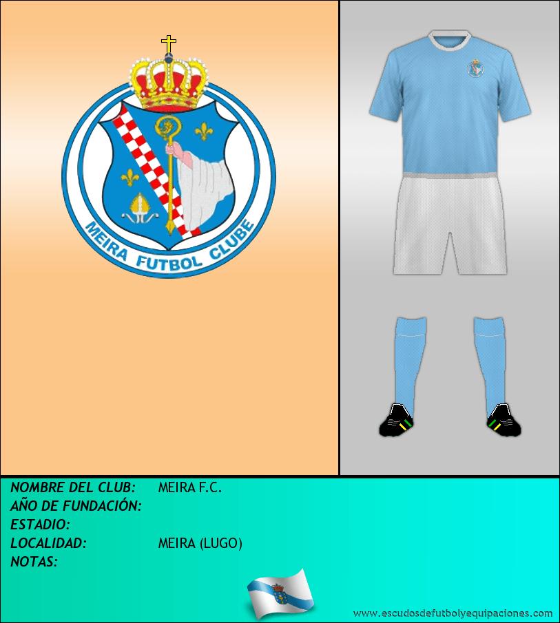 Escudo de MEIRA F.C.