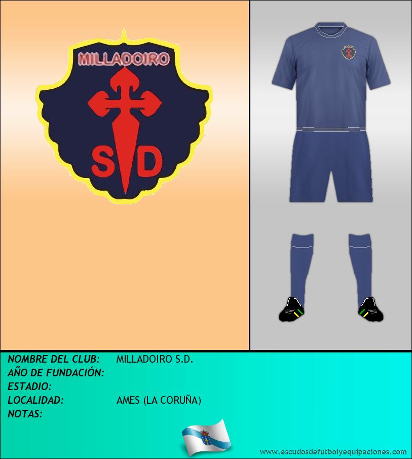 Escudo de MILLADOIRO S.D.