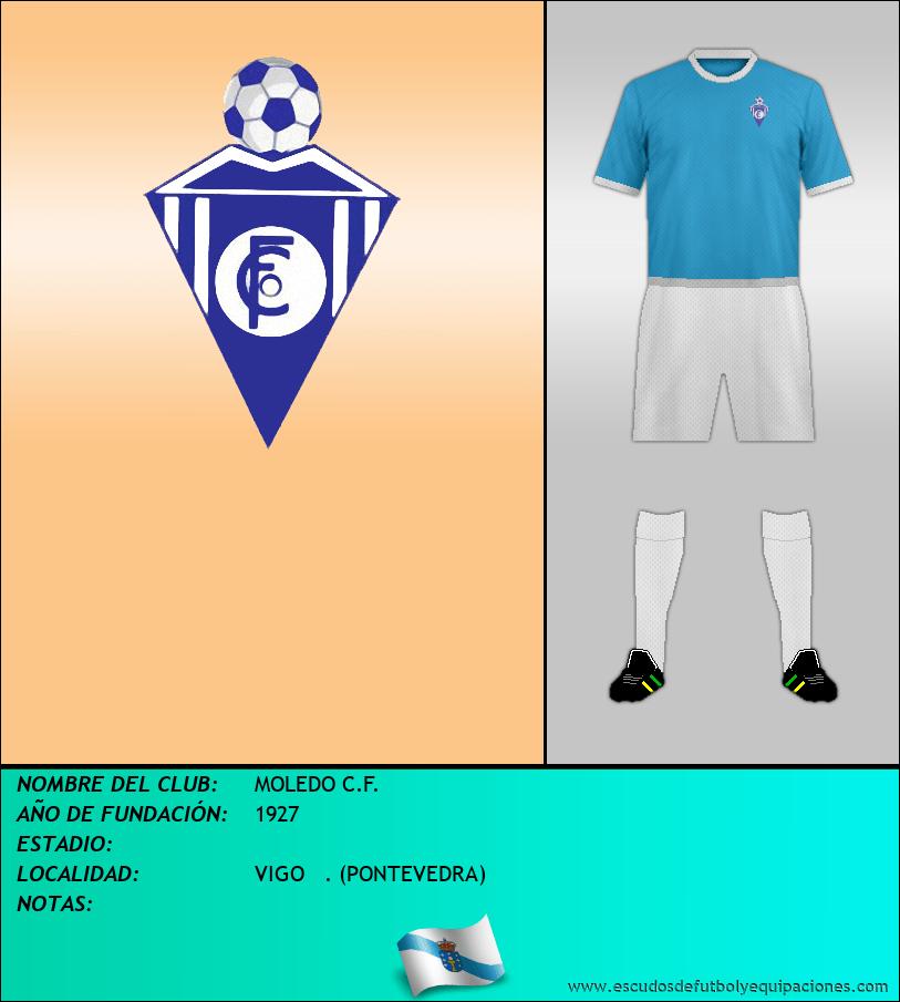 Escudo de MOLEDO C.F.