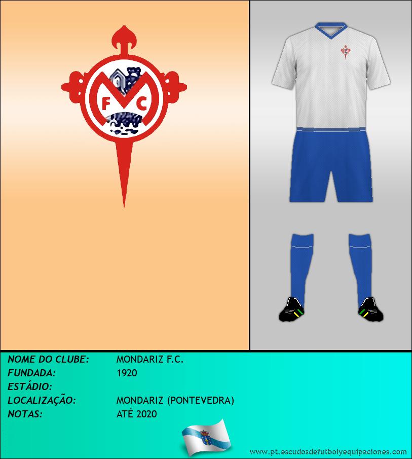 Escudo de MONDARIZ F.C.