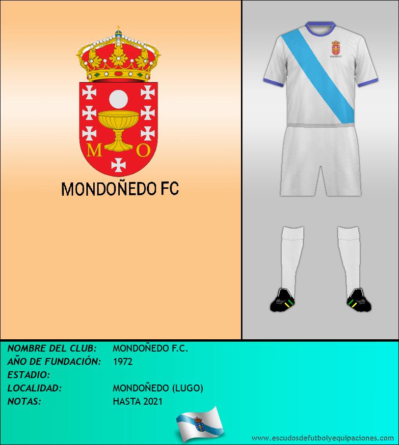 Escudo de MONDOÑEDO F.C.
