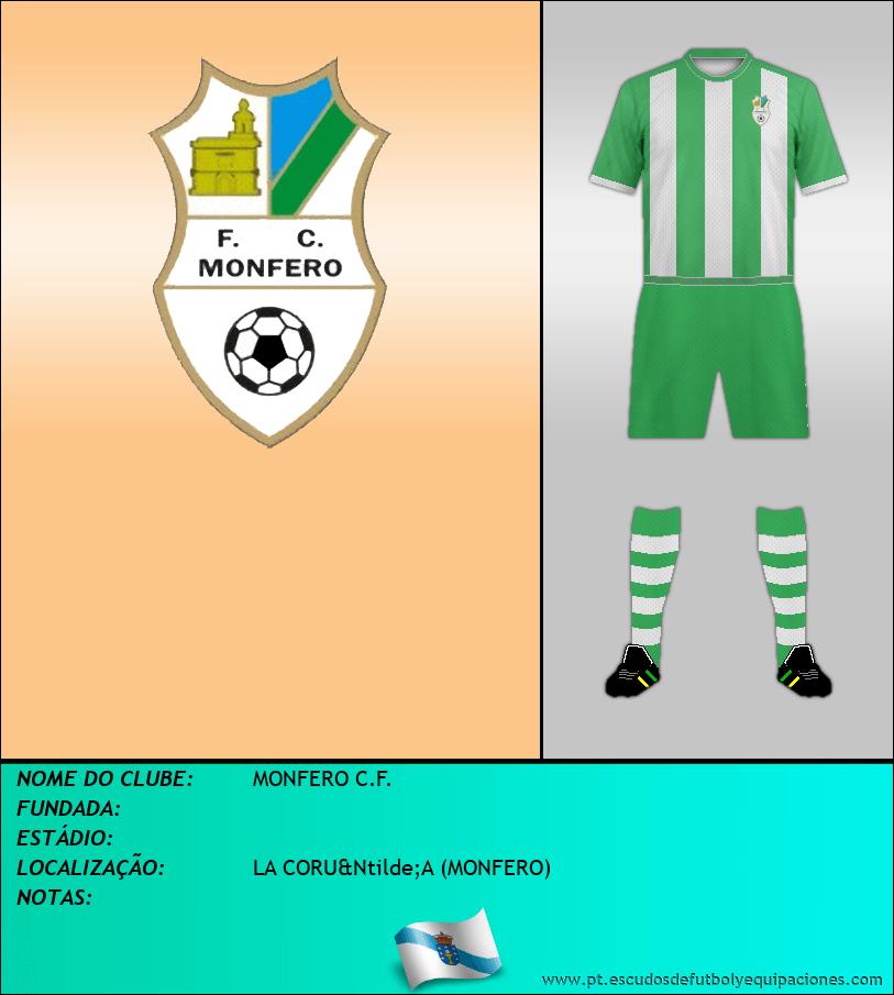 Escudo de MONFERO C.F.