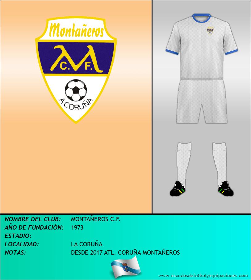 Escudo de MONTAÑEROS C.F.
