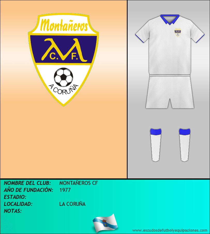 Escudo de MONTAÑEROS CF