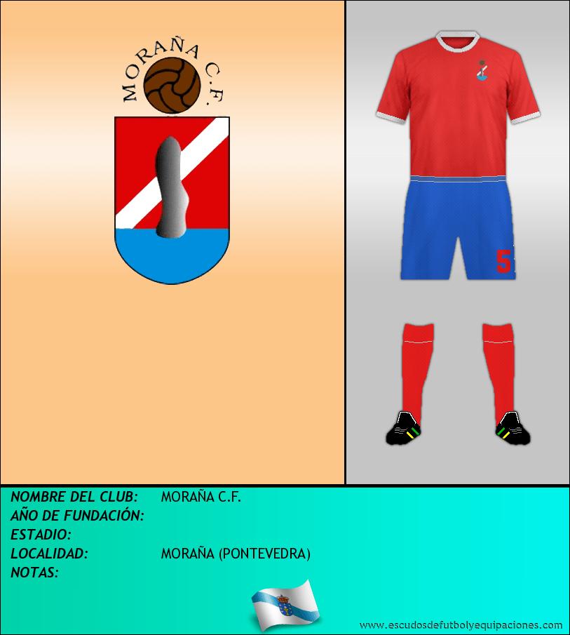 Escudo de MORAÑA C.F.