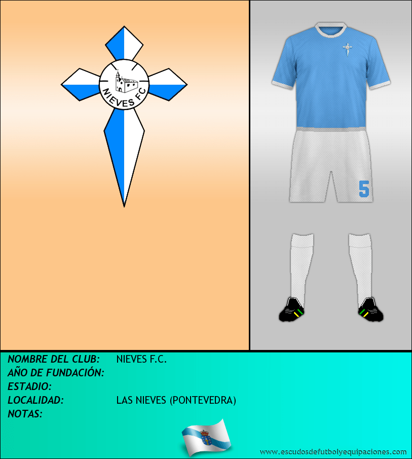 Escudo de NIEVES F.C.