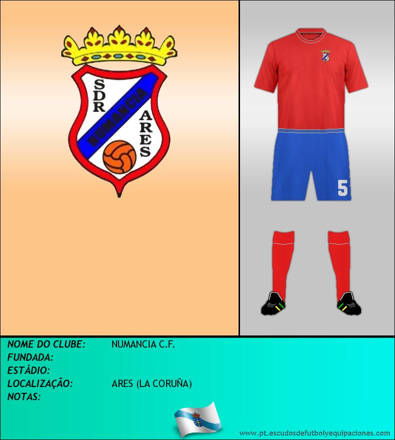 Escudo de NUMANCIA C.F.