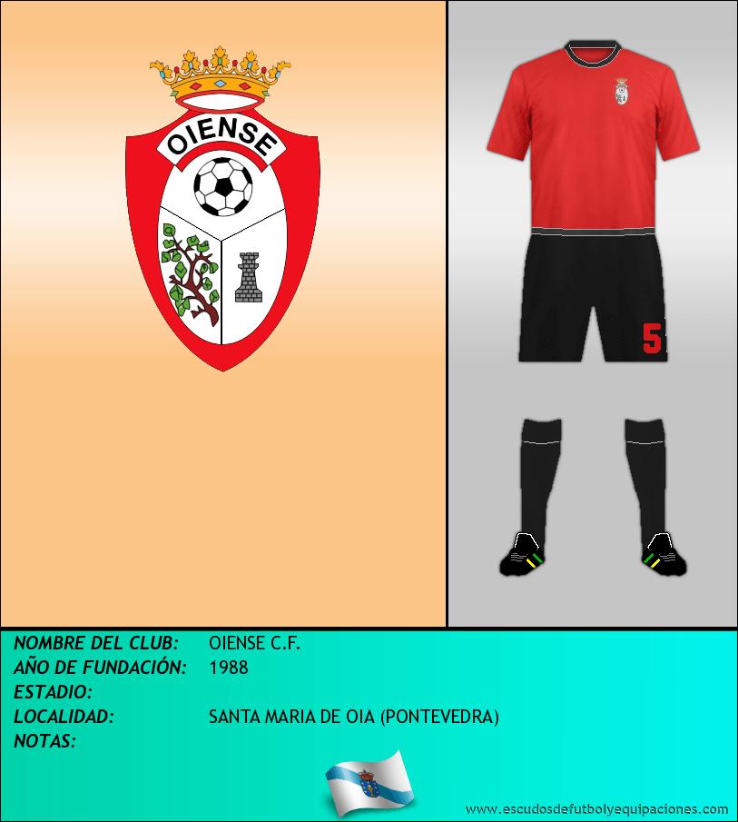 Escudo de OIENSE C.F.