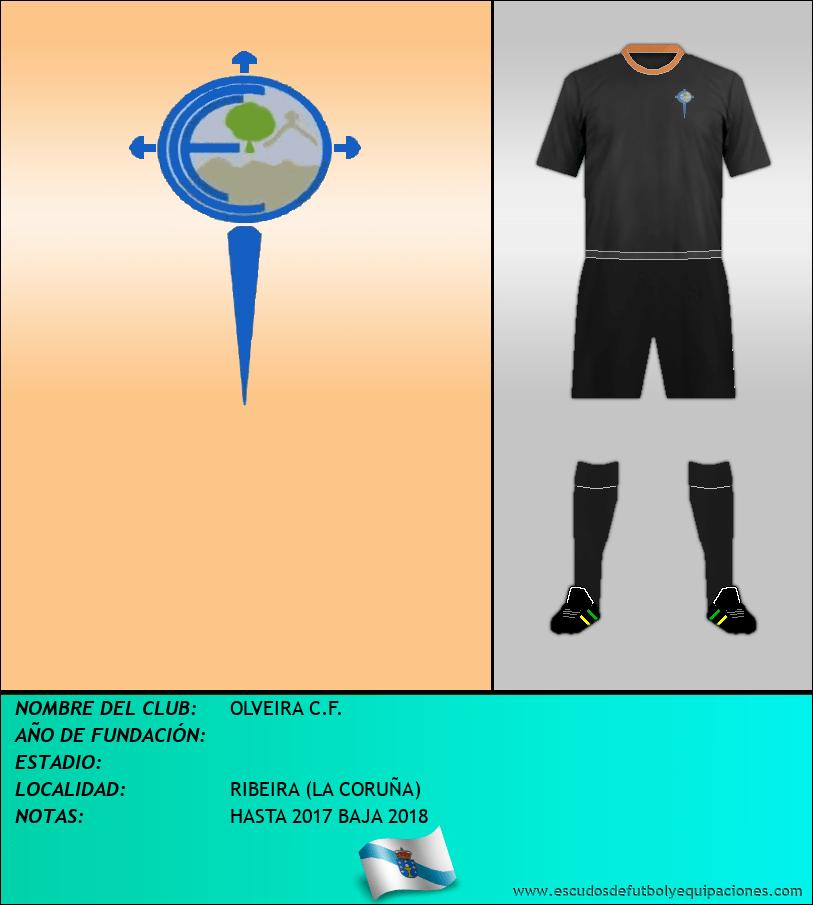 Escudo de OLVEIRA C.F.