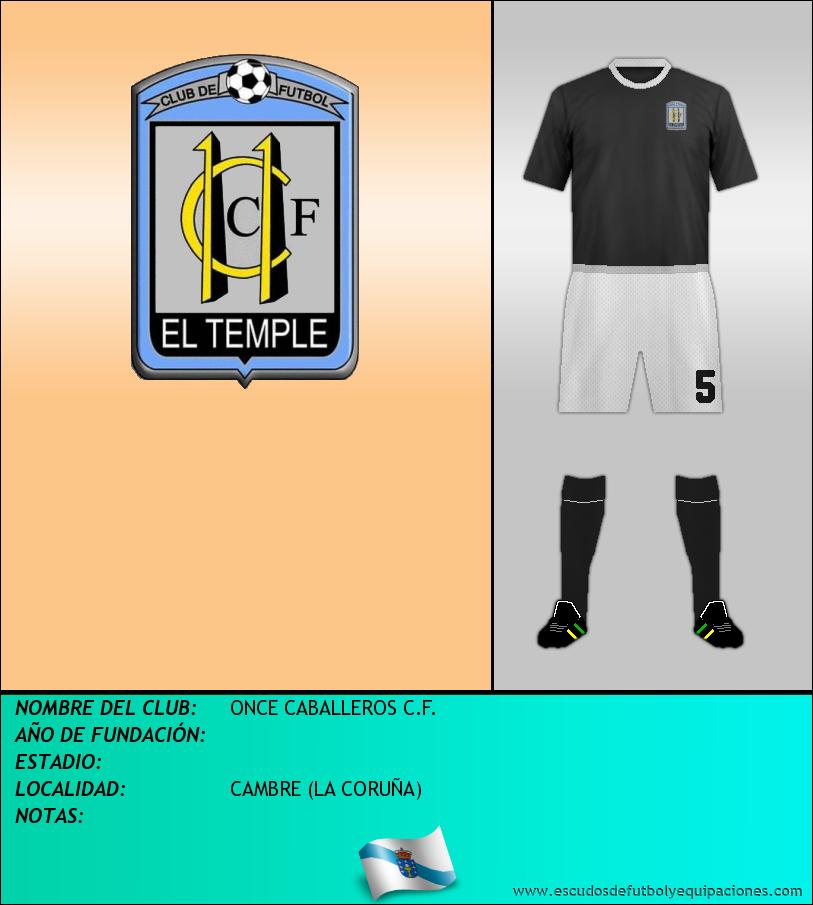 Escudo de ONCE CABALLEROS C.F.