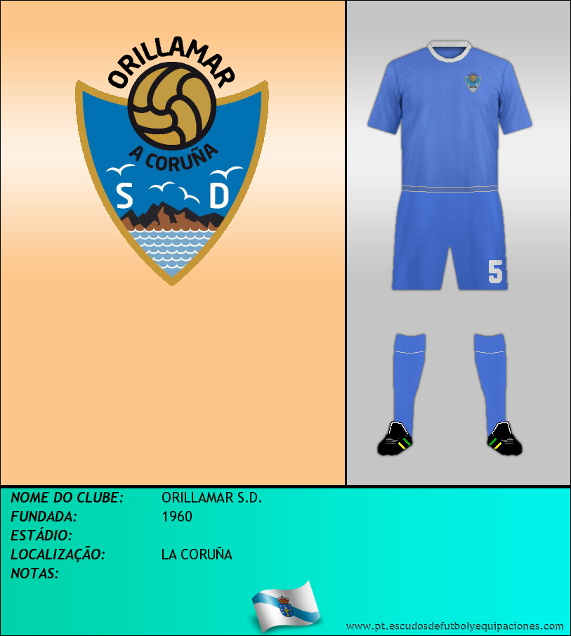 Escudo de ORILLAMAR S.D.