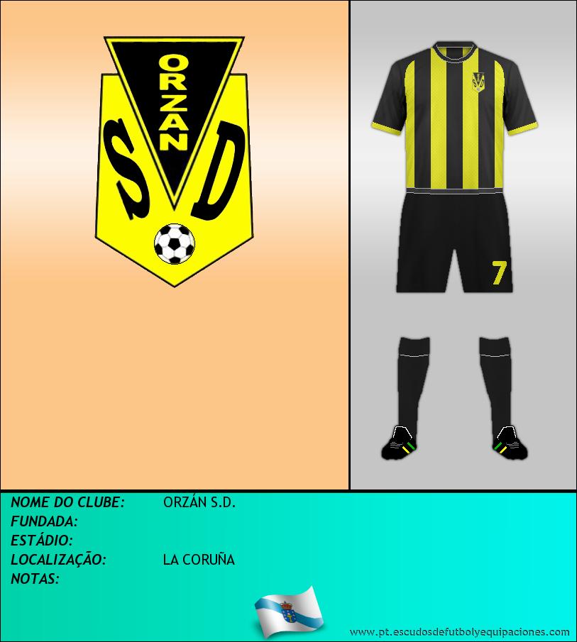 Escudo de ORZÁN S.D.