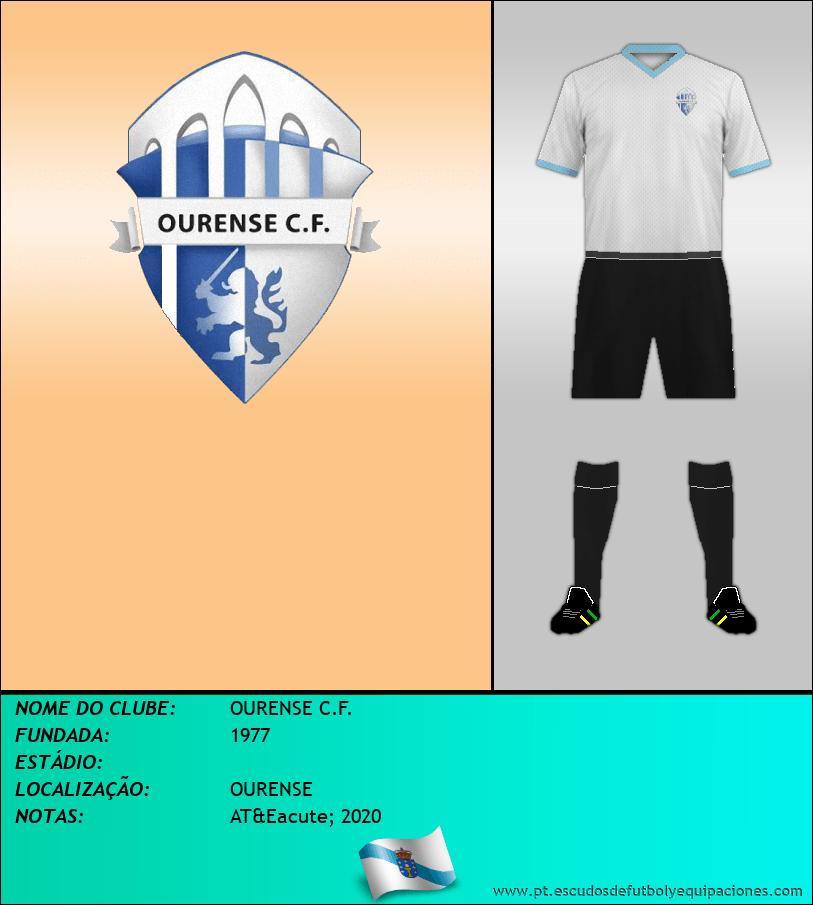 Escudo de OURENSE C.F.