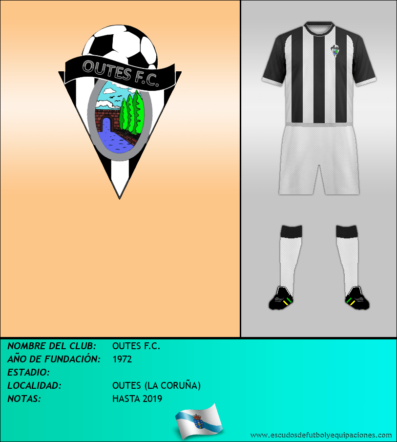 Escudo de OUTES F.C.