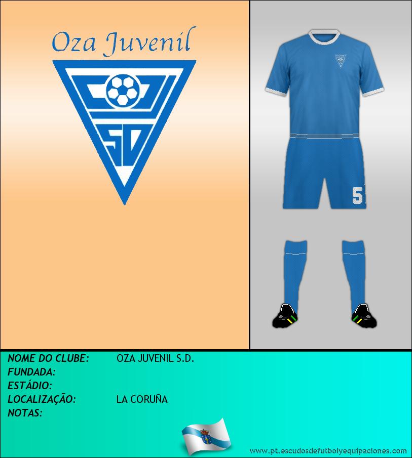 Escudo de OZA JUVENIL S.D.