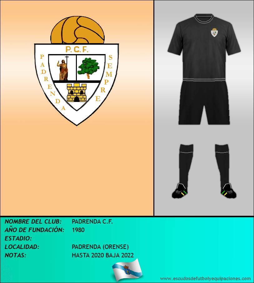 Escudo de PADRENDA C.F.