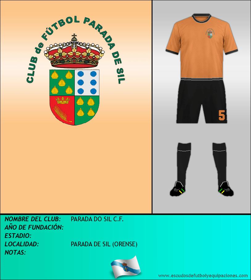 Escudo de PARADA DO SIL C.F.