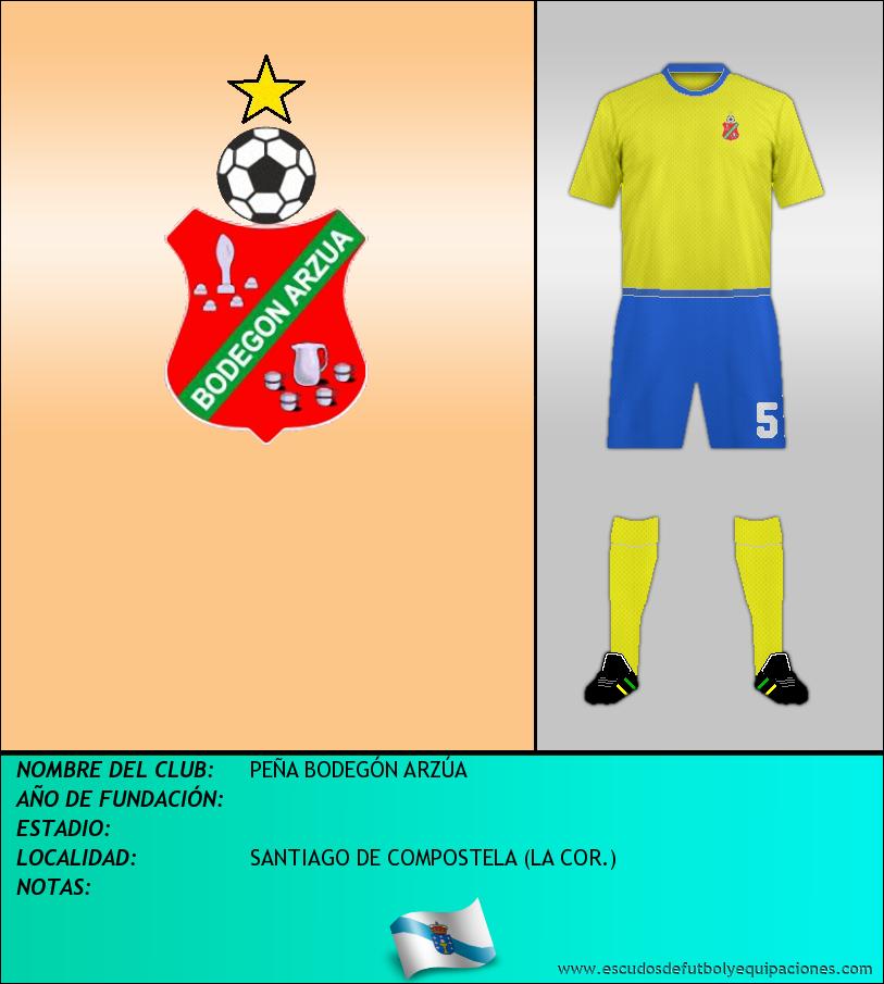 Escudo de PEÑA BODEGÓN ARZÚA