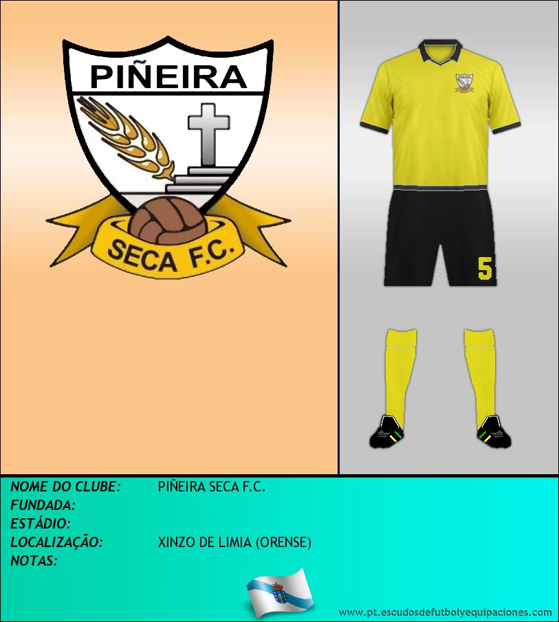 Escudo de PIÑEIRA SECA F.C.