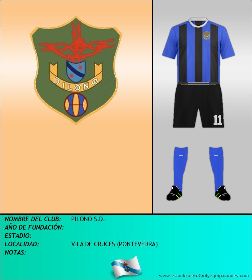 Escudo de PILOÑO S.D.