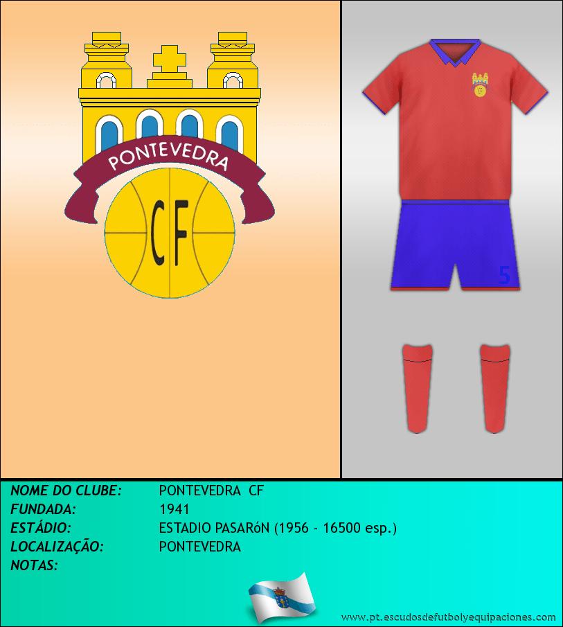 Escudo de PONTEVEDRA  CF