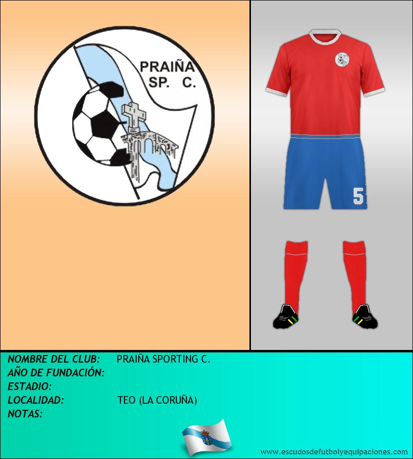 Escudo de PRAIÑA SPORTING C.