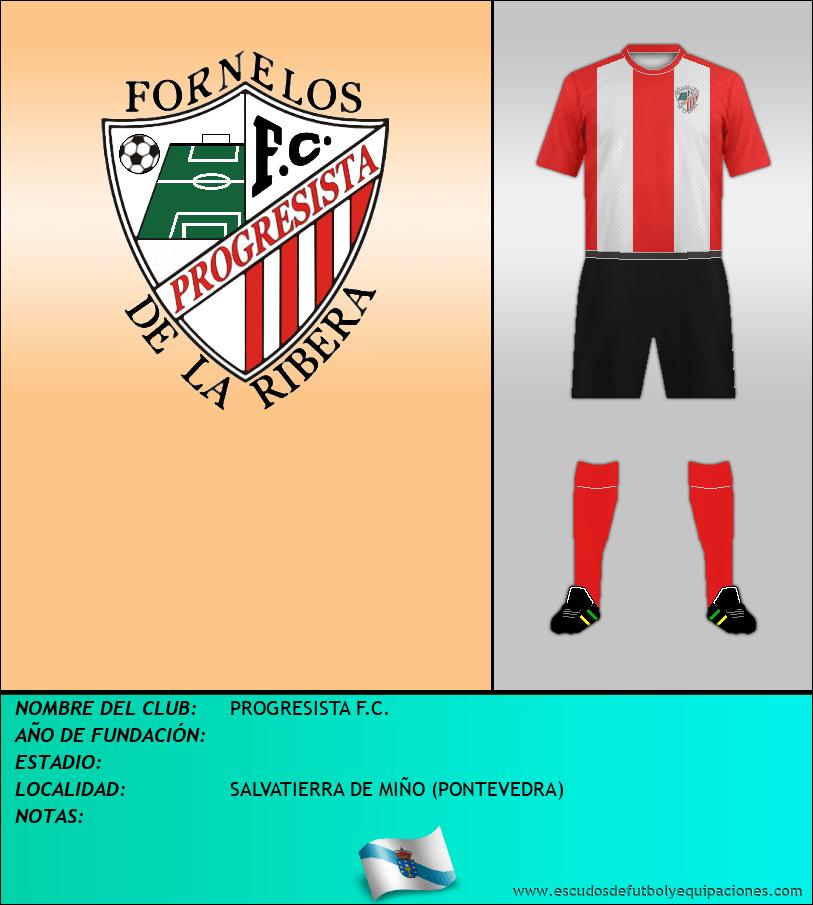 Escudo de PROGRESISTA F.C.