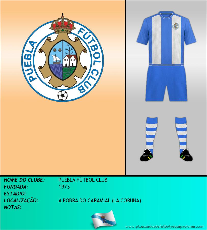 Escudo de PUEBLA FÚTBOL CLUB