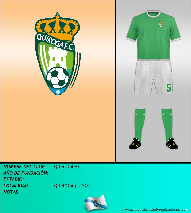 Escudo de QUIROGA F.C.