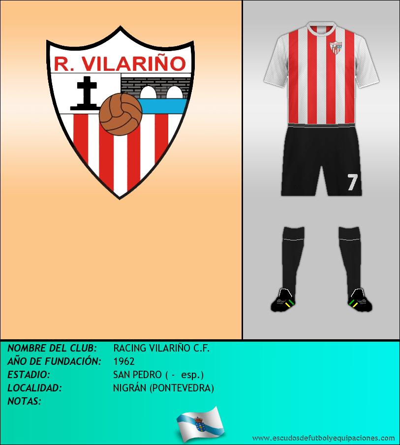 Escudo de RACING VILARIÑO C.F.