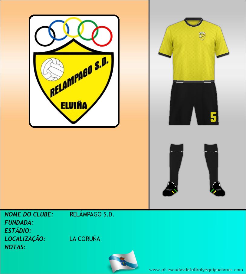 Escudo de RELÁMPAGO S.D.