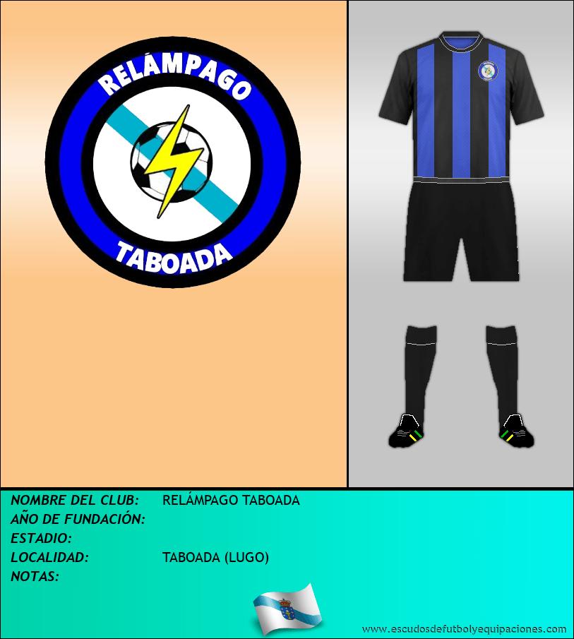 Escudo de RELÁMPAGO TABOADA