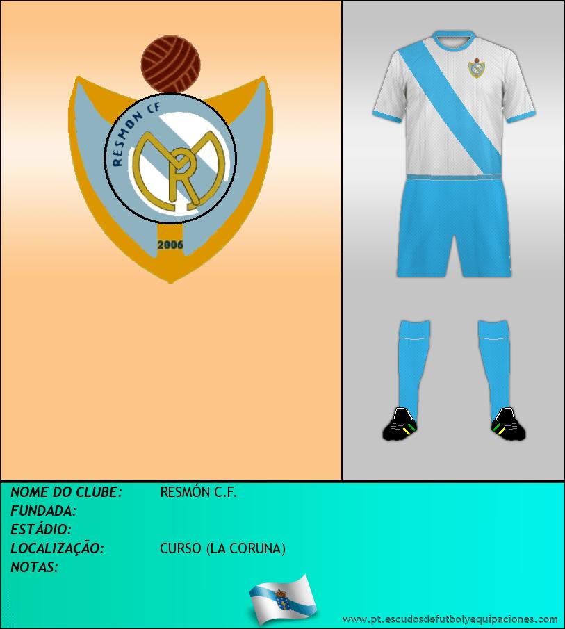 Escudo de RESMÓN C.F.