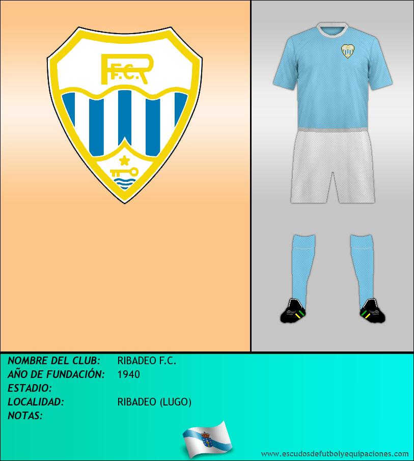 Escudo de RIBADEO F.C.