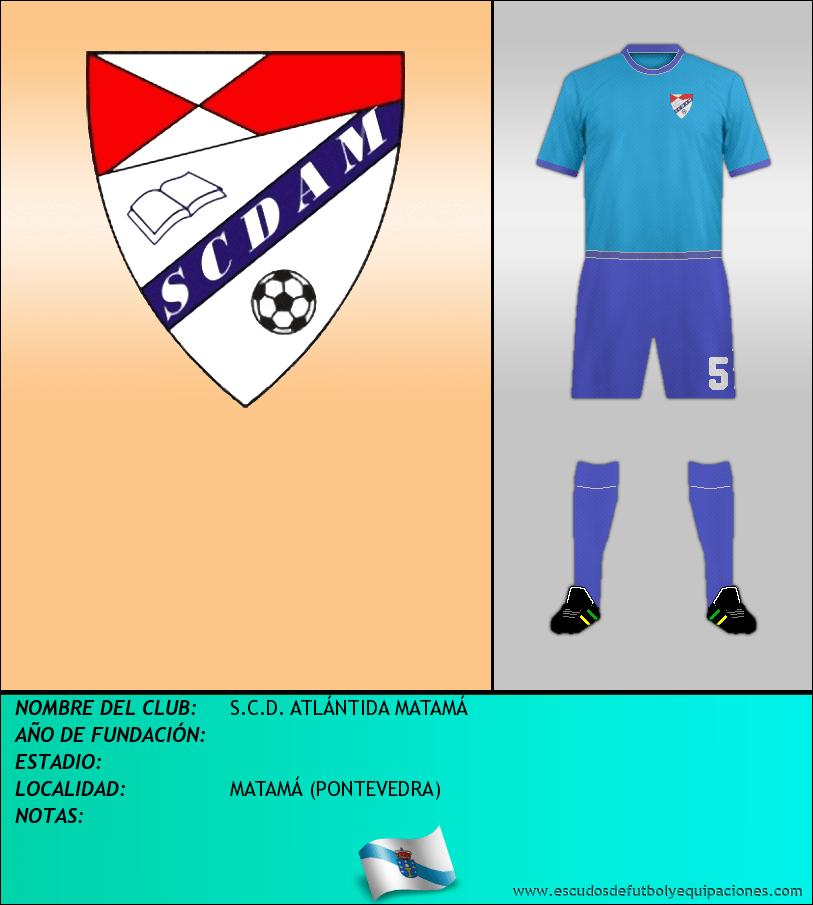 Escudo de S.C.D. ATLÁNTIDA MATAMÁ