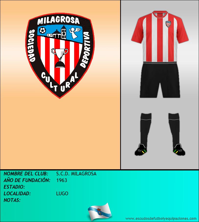 Escudo de S.C.D. MILAGROSA