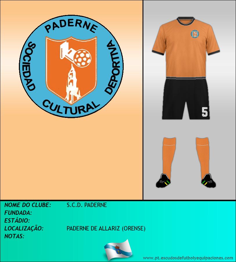 Escudo de S.C.D. PADERNE