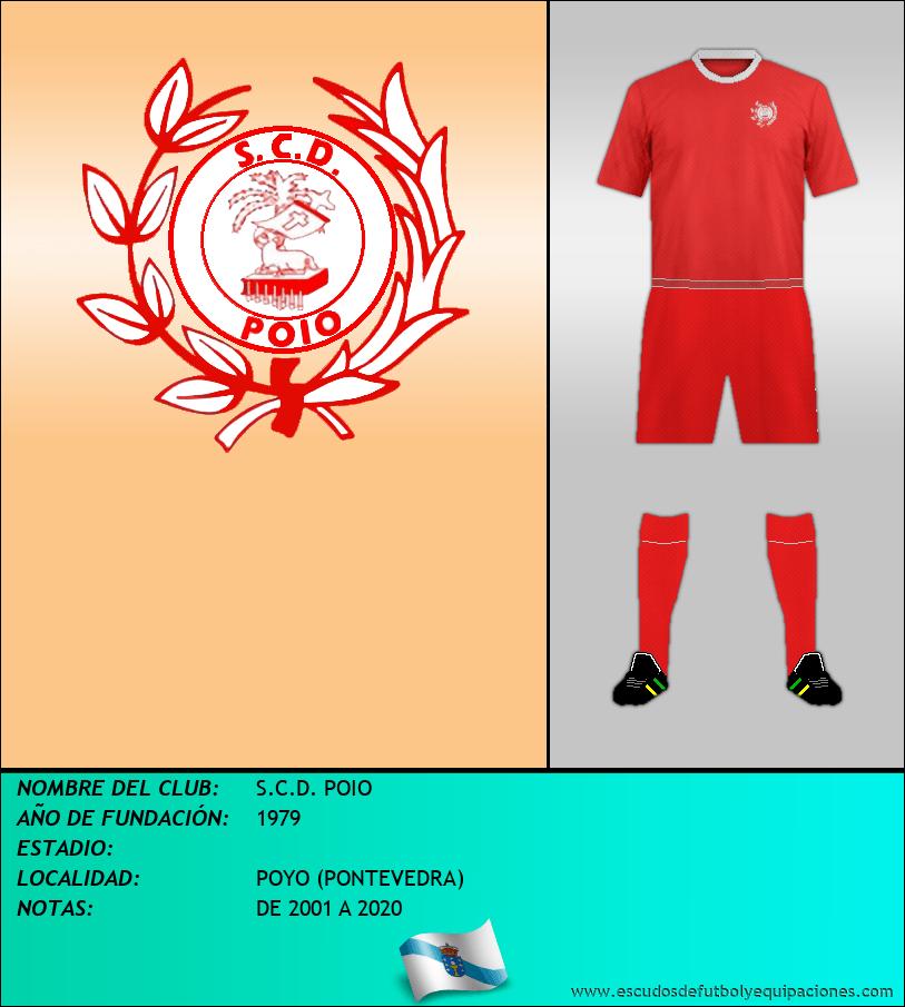 Escudo de S.C.D. POIO