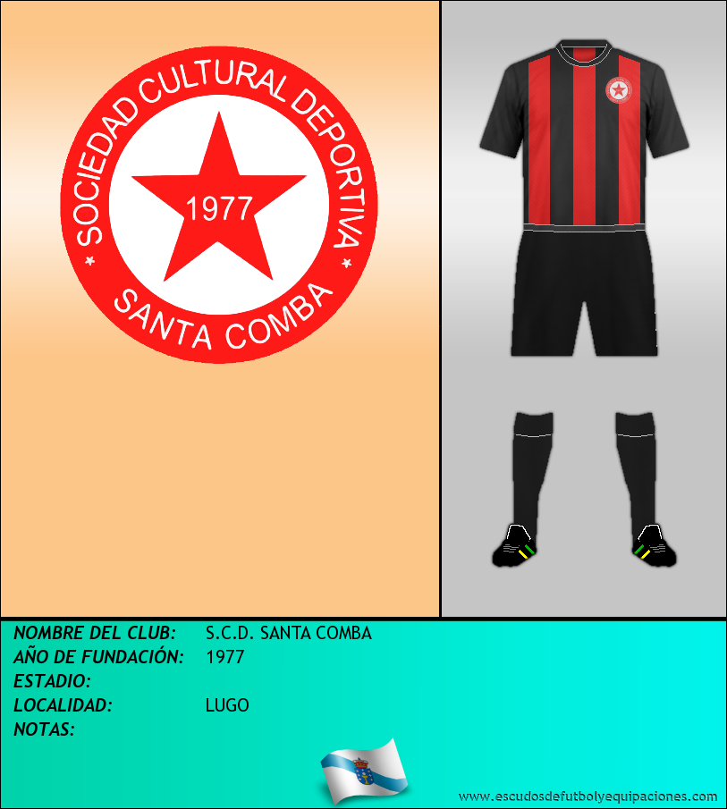 Escudo de S.C.D. SANTA COMBA